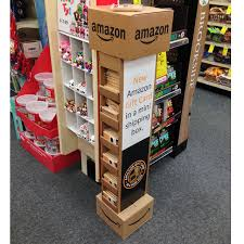 gift card display mini box display promotes gift cards point of