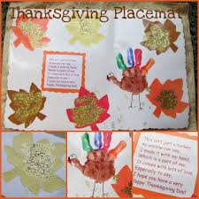 turkey print placemat