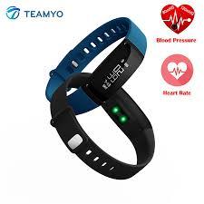 blood pressure wrist bracelet images Teamyo v07 smart band blood pressure heart rate monitor wearable jpg