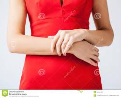Wedding Ring Hand by Woman Showing Wedding Ring On Her Hand Stock Photography Image