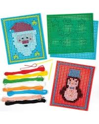 bargains on picture cross stitch card kits for children