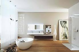 moderne badezimmer mit dusche und badewanne badezimmer freistehende badewanne dusche wandgestaltung holzboden