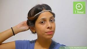 headbands that go across your forehead how to do headband curls 15 steps with pictures wikihow