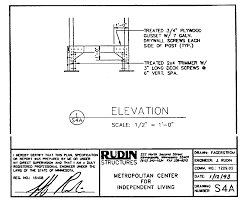 independent living scales manual mcil ramps rudin drawing enlarged support elevation s4a