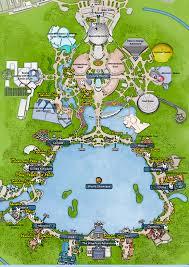 Epcot World Showcase Map Kennythepirate Epcot Character Map Kennythepirate Com An