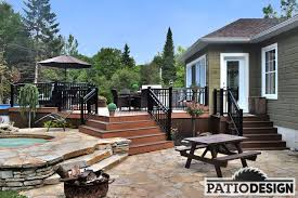 patios with above ground pool achievements by patio design inc
