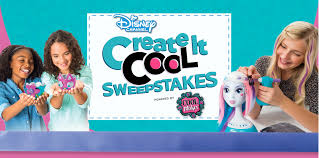 create it cool sweepstakes disney channel