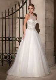 beaded wedding dresses beaded embroidery on tulle morilee bridal wedding dress