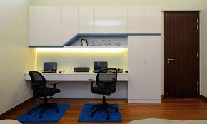 Pin By Rufus Dsouza On Bedroom Study Table Cum TV Units - Home office room design