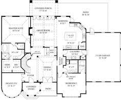 Dual Master Suite Home Plans First Floor Plan Of Colonial House Plan 67959 Get Rid Of Jut Outs