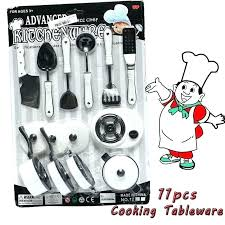ustensiles cuisine enfants batterie cuisine enfant ustensile cuisine enfant 16 pcs en acier