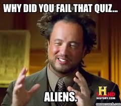Quiz Meme - fail