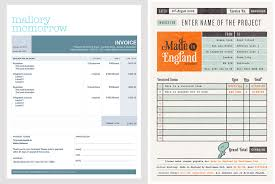 Invoice Template For Designers by How To Design A Killer Invoice That Reflects Your Style Mallory