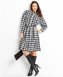 dresses with boots wear now wear later plus size printed dress boots look women