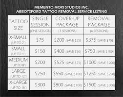 tattoo removal inc removal department memento mori studios inc
