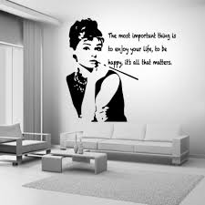 wall decal audrey hepburn color the walls of your house wall decal audrey hepburn