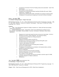 sle java developer resume java developer resume sle 28 images file resume in java 28