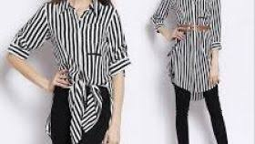 black and white striped blouse black white striped blouse the blouse