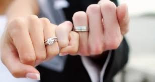 for couples matching promise rings for couples sets for him and