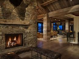 high alpine mountain ranch woodz high alpine mountain ranch wood country home log house interior fireplace