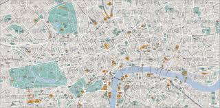 London Maps Geoatlas City Maps London Map City Illustrator Fully