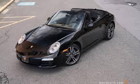 porsche 911 convertible black 2012 porsche 911 black edition cabriolet weissach