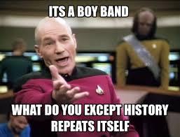 Boy Band Meme - the myth of the boy band why ed