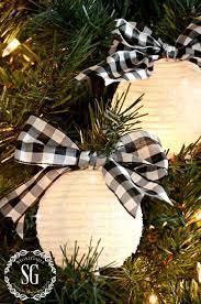 sparkling white lantern christmas ornament white lanterns