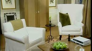 video designing a comfortable living room martha stewart