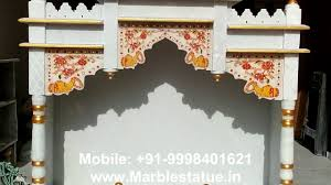 Interior Design For Mandir In Home Marble Pooja Temple For Home Www Marblestatue In Youtube