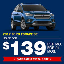 ford lease vehicle lease specials metro ford