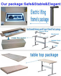 Electronic Height Adjustable Desk by Executive Table Metal Design U0026motorized Desk Lift Height