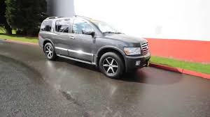 infiniti qx56 houston 2006 infinity qx56 liquid onxy 6n809330 redmond seattle