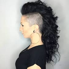 35 stunning curly mohawk hairstyles u2014 cuteness and boldness check