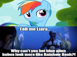 Mlp Rainbow Dash Meme - brony shepard wants romance with rainbow dash my little pony