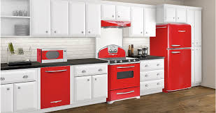Red Colour Kitchen - elmira stove works and the kitchen of my dreams meanwhile at