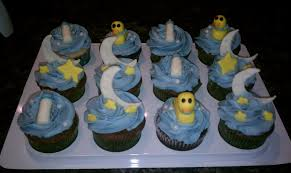 stars moon and duckies baby shower cake cakecentral com