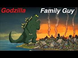 Godzilla Nope Meme - godzilla in family guy youtube