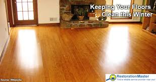 how to keep your floors clean during the winter