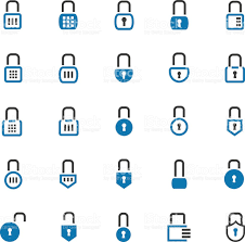 lock icon set stock vector art 511993118 istock