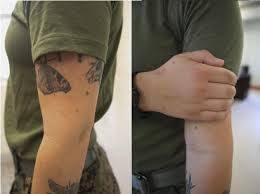 right to bare arms marine corps new tattoo policy u003e ii marine