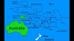 Map Of Oceania Alternate Future Of Oceania Youtube