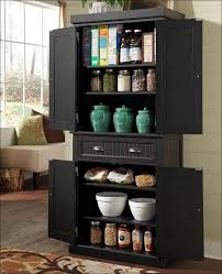kitchen free standing food pantry stand alone pantry wooden