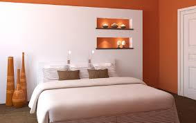 white walls in bedroom 3d modern bedroom orange and white walls download 3d house