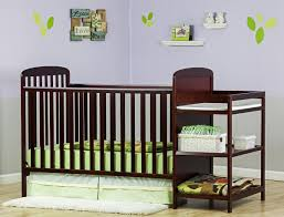 Convertible Crib Changing Table On Me 4 In 1 Crib And Changing Table Combo Ojcommerce