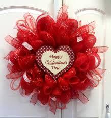 deco mesh ideas wreath ideas s day s day heart