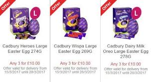 Easter Decorations At Tesco by The Best Easter Egg Offers For 2017 From Tesco Morrisons Marks