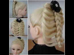 hair plait with chopstick cage braid hair tutorial created with a chopstick youtube