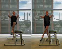 Chair Cardio Exercises Lower Body Workout Challenge On The Pilates Chair Pilates Chair