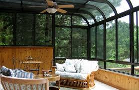 Four Seasons Sunroom Shades Curved Sunrooms Ozark Sunrooms Of Northwest Arkansas